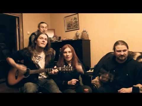 """Поздравление от группы Калевала с Новым Годом 2015 ! ( Новая песня - """"Зелёный Змей"""" )"""